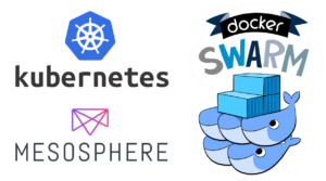 Manage your data layer with Kubernetes, Mesosphere and Docker Swarm