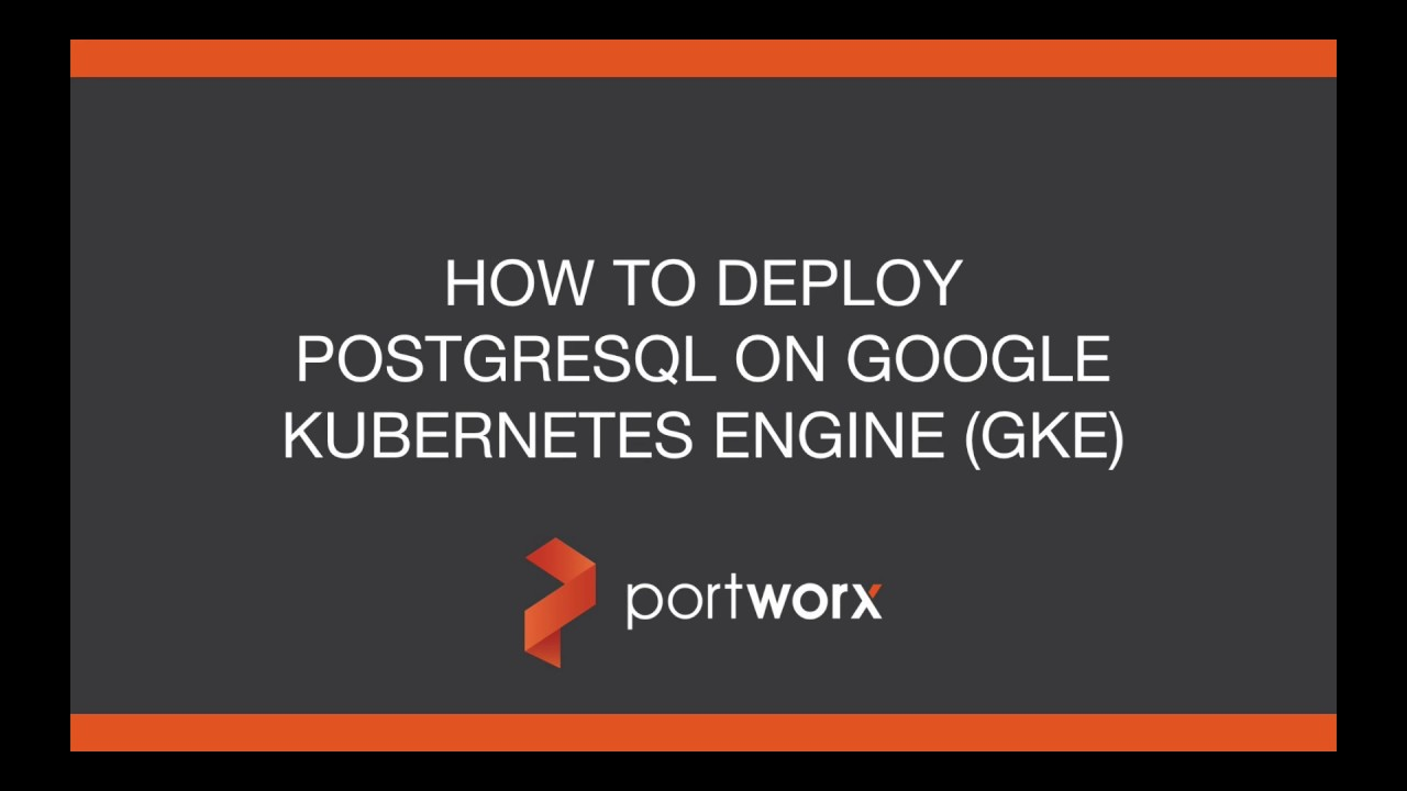 PostgreSQL Kubernetes: How to run HA Postgres on Kubernetes