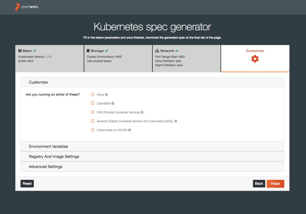 kubernetes spec generator 3