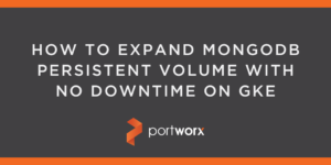 How to Expand MongoDB Persistent Volume With No Downtime on GKE