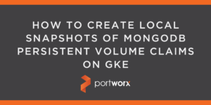 How to Create Local Snapshots of MongoDB Persistent Volume Claims on GKE