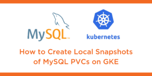 local snaps mysql gke