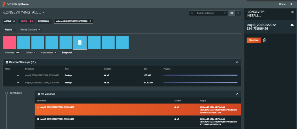 Cluster Management UI