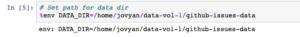DATA_DIR to our Portworx volume mount