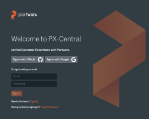 welcome to px-central