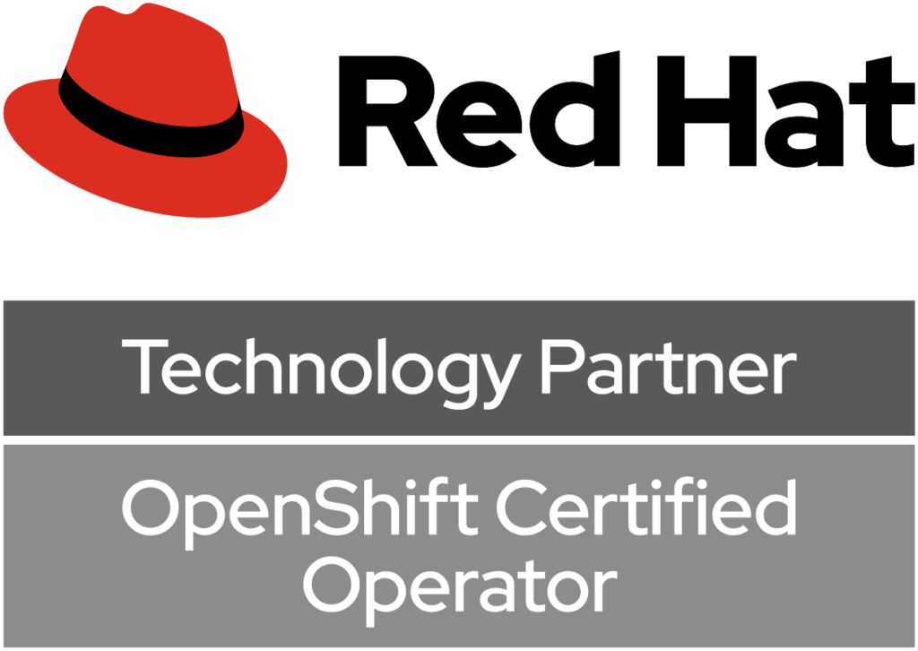 RedHat Openshift Certified Technology partner