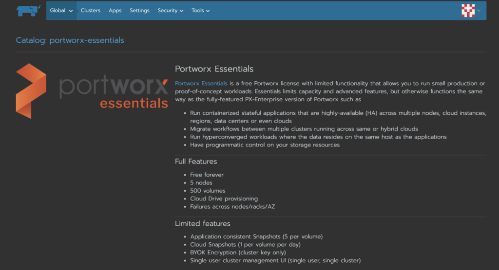 Portworx Essentials on Rancher and OpenShift